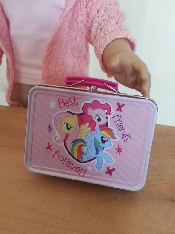 American Girl Or 18 Inch Doll Lunch Box Set