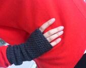Fingerless Mittens, Crochet Mittens, Crochet Fingerless Mittens, Wrist Warmers