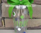 Personalized Acrylic Tumbler- Personalized Gift