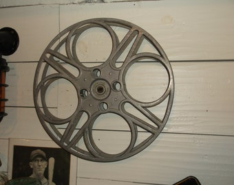 Vintage 35mm Film Reel Made By The Goldberg Brothers Denver, Colorado