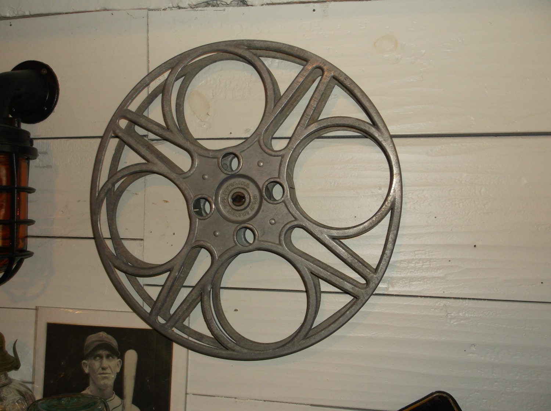 Vintage 35mm Film Reel Made By The Goldberg Brothers Denver