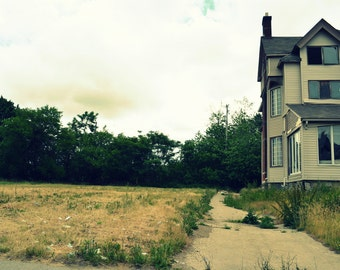 Empty House Digital Photograph - Instant Download