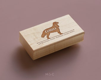 Cavalier King Charles - Personalized Stamp