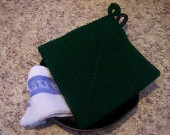 Crochet Potholder, Crochet Hotpad, Potholder, Hot Pad, Trivet, Housewarming, Home Decor