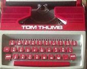 Tom Thumb vintage petite toy typewriter