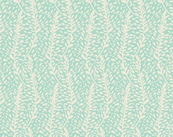 Frilly Flutters Mist (Knit) - Winged - Bonnie Christine - Art Gallery Fabrics - 1 Yard