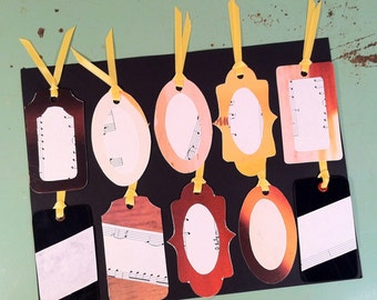 Upcycled Gift Tags #2