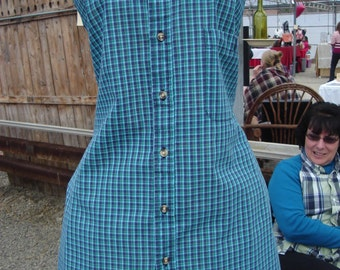 Repurposed Men's Shirt Apron for men and women