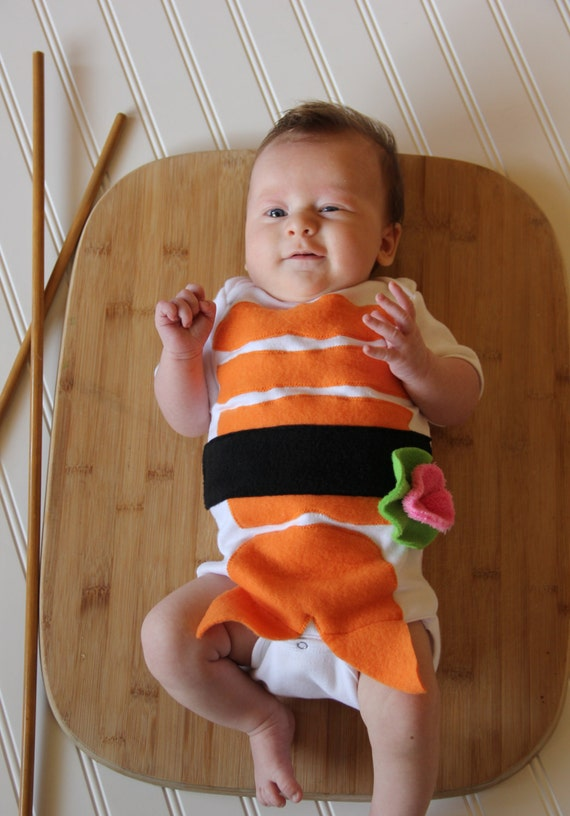 Sushi baby costume for Creative toddler halloween costumes