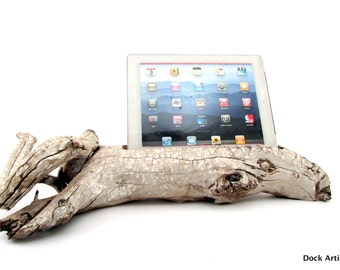 iPad Stand in Driftwood