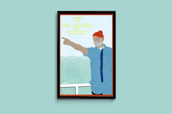 The Life Aquatic 11 x 17 movie poster