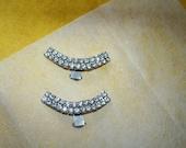 Shoe Clips Rhinestone Studded Stunning, Beautiful
