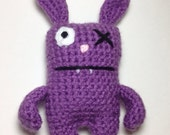 Uglies Plush - Purple Rabbit