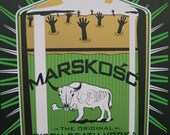 Marskosc limited edition screenprint
