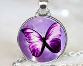 Butterfly Pendant, Butterfly Necklace, Butterfly Jewelry (PD0247)