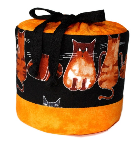 Toilet Paper Roll Cover Cats Motif In Black And By