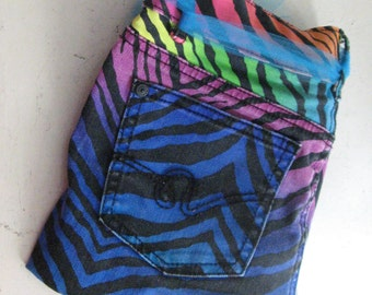 hippie boho beach fanny pack upcycled child's pants