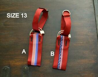 Patriotic Martingale Collar