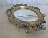 Vintage Rococo Mirror Baroque Mirror Ornate Gold Mirror Florentine Mirror