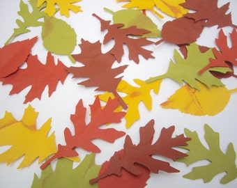 fall leaves, paper leaves, distressed fall leaves,leaf  die cut, leaf shape, textured leaves, embellishment, thanksgiving decoration