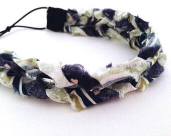 Set of 3 Braided Headbands-- FREE SHIPPING