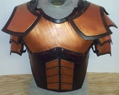 Leather Armor Juggernaut Chest, Back, and Shoulders