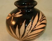 Mini Black Tropical Raku ...