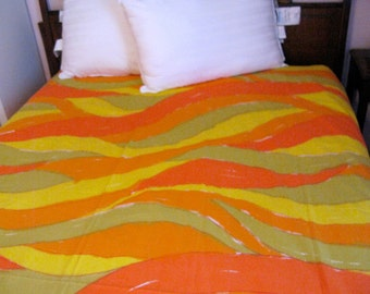 Vintage and Vibrant Vera Neumann Double or Full Sheet