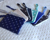 Custom Order 5x7 Fabric Wristlet