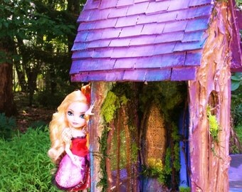 Fairytale Cottage OOAK Handmade Enchanting Fairy House