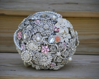 Brooch Bouquet Deposit on a Custom Brooch Bouquet