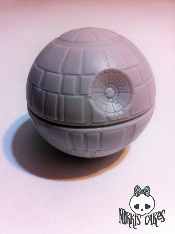 Solid Chocolate Death Star. Star Wars. 1 count.