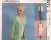 McCall's Sewing Pattern 2675 - Misses' Jacket, Dress or Top, Pants (8-12, 10-14, 12-16, 14-18, 20-24)