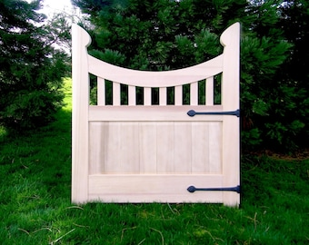 Garden Gate, Western Red Cedar, Made to order, Traditional Joinery