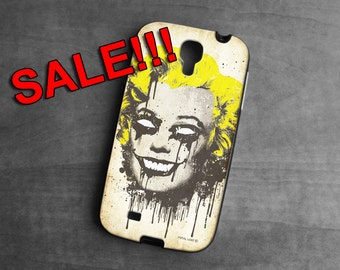 SALE, Samsung Galaxy 4s case, Zombie Marilyn monroe ,Galaxy case, gothic, Phone Cases, Phone Covers, case for Samsung