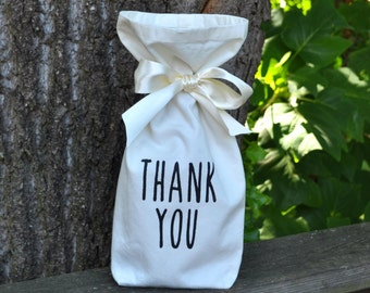 Custom Wine/Gift Bag - Great for Personalized Hostess, Bridesmaid, Wedding Gifts/fits wine bottle Large or Small  Not just for Wine
