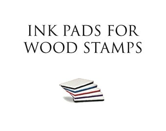 Water based Ink Pads for Wood Stamps
