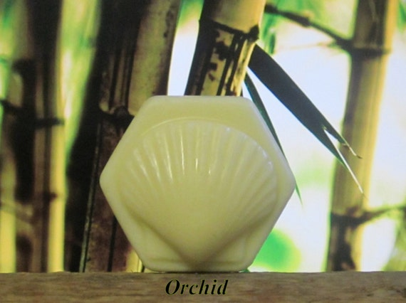 "Organic Solid Lotion Bar ""Orchid""  Large 4  oz 100% Natural"