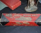Gem Folding Mitre Box. Never used.