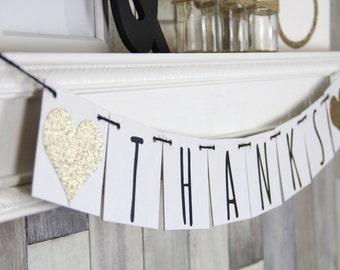 Thank You Sign, Modern Wedding Decor, Champage Wedding Decor, Thank you Banner