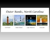 Outer Banks Lighthouses,  Currituck, Bodie Island, Cape Hatteras, Ocracoke, Outer Banks, North Carolina