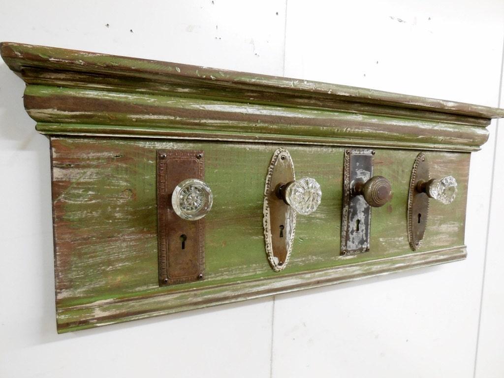 Architectural Salvage Coat Rack Rustic Coat Rack Antique