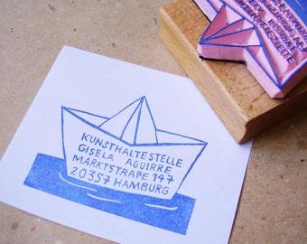 custom address stamp ship