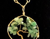 Tree of Life Necklace -- Made to order