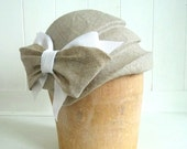 New 1920's Style Cloche Hat- Vintage Style