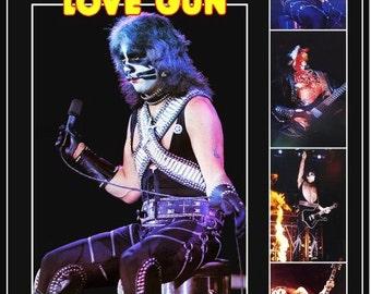 KISS Peter Criss Love Gun 1977-78 Tour Stand-Up Display