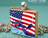 Special Offer - Dragon Boat Challenge Style 4 - a jewelry necklace Pendant with Scrabble Wood Tile