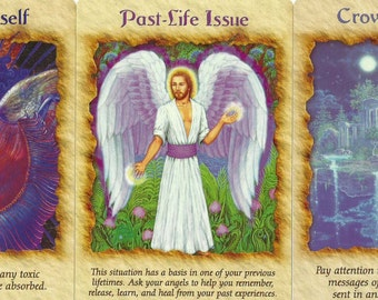 Increasing Your Spirituality/Intuitive Abilities Angel 1-Card Oracle Reading - PDF Document