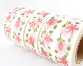Pink Flowers Designs Washi Tape - A866
