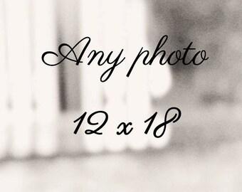 "Any Photograph 12""x18"", custom sizes, alternative listings, home decor, fine art photography, holiday gift guide, Christmas"